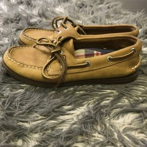 Sperry Topsider Boat Shoes Size 5.5